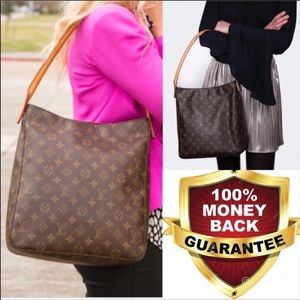 ✨DUSCONTINUED✨ZIPPER TOTE Louis Vuitton